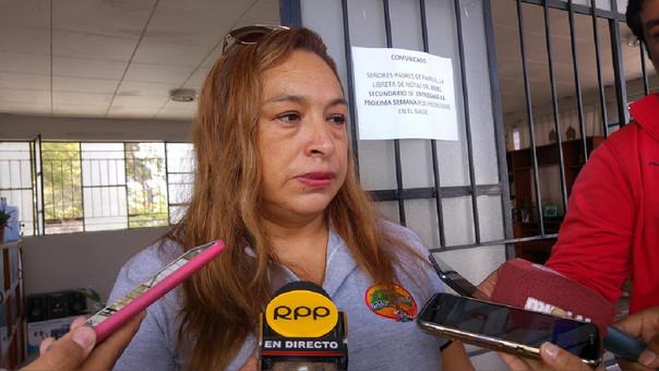 Carmen Sánchez debe responder sobre las denuncias. A partir del 1 de abril dejará el cargo de directora regional de Educación.