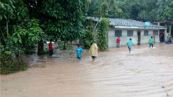 Desborde río Tonchima.