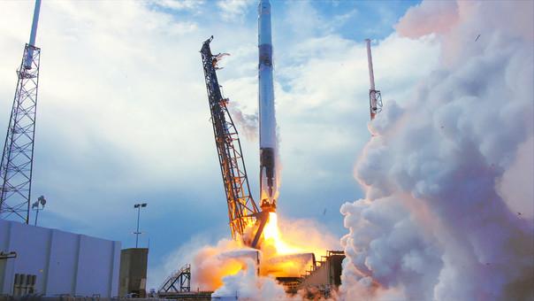 Primer satélite tico sale hacia el espacio