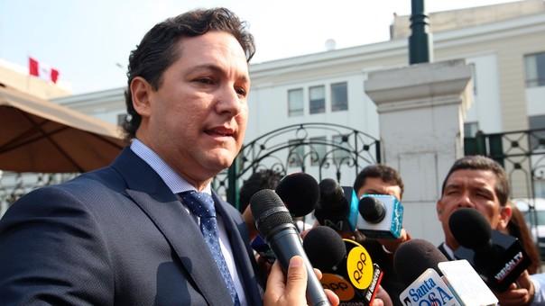 Daniel Salaverry es el vocero de Fuerza Popular.