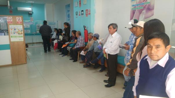 Cajamarquinos exigieron que se sinceren las tarifas
