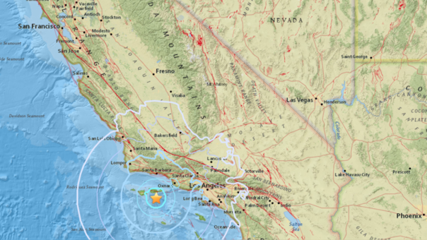Sismo de magnitud 5,6 sacude a Chile