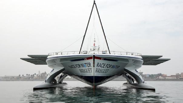 El Race for Water Odisea partió el 9 de abril de 2017 de Francia para realizar una travesía de concientización por distintos países costeros del mundo. El viaje durará 5 años.