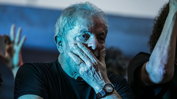 Lula permanece acuartelado desde la tarde del jueves en la sede del Sindicato de Metalúrgicos de Sao Bernardo do Campo.