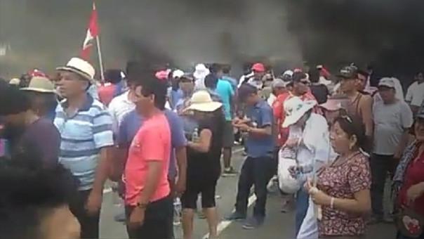 protestas Olmos