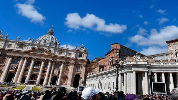 La Plaza de San Pedro, en el corazón del Vaticano.