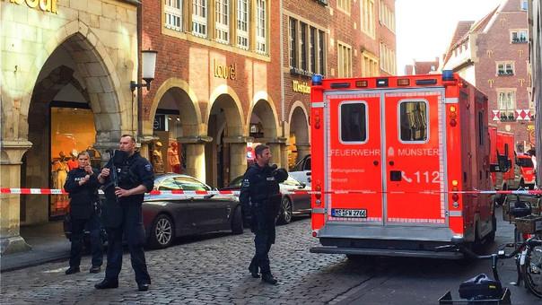 La Policía atiende la emergencia.