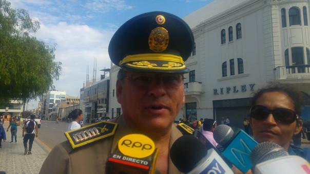 Jefe de la Región Policial también pidió a la población no alterar el orden