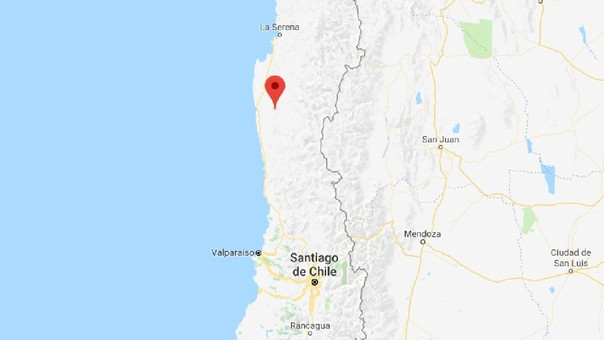Se sintió en Cuyo fuerte sismo en centro de Chile