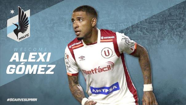 Alexi Gómez fue anunciado como nuevo jugador del Minnesota United
