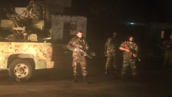 Imagen tomada el pasado 2 de abril en un puesto de control en la ciudad de Tartus, donde hay presencia de tropas rusas.