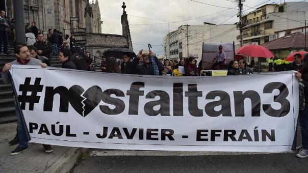 Este viernes, el presidente Lenin Moreno confirmó el asesinato de los periodistas que fueron secuestrados el pasado 26 de marzo.