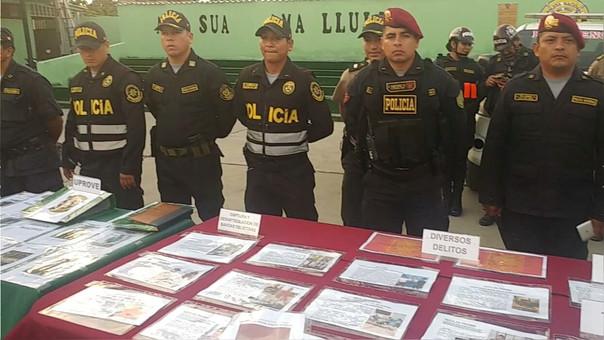 Policía busca reducir índice delictivo en Chiclayo