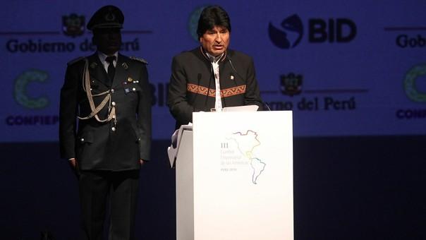 El presidente de Bolivia alertó sobre el impacto de los seres humanos en la tierra.