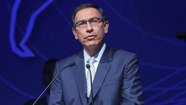 Presidente ofreció un mensaje en la Cumbre de las Américas.