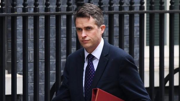 El ministro de Defensa británico, Gavin Williamson, respaldó las acciones del Reino Unido frente a la situación en Siria.
