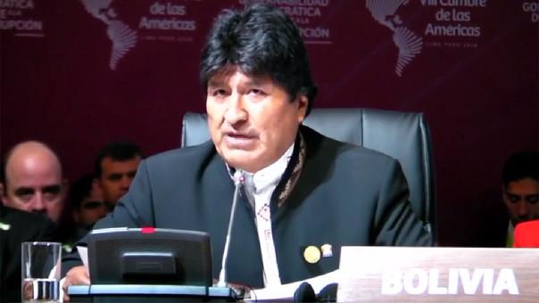 Evo Morales: El capitalismo es el peor enemigo de la humanidad y del planeta.