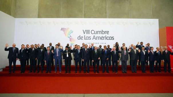 Evento realizado en Lima convocó a mandatarios y jefes de gobierno del continente.