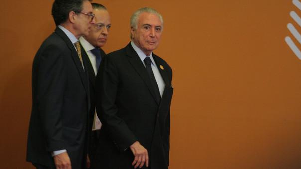 Presidente de Brasil, Michel Temer en VIII Cumbre de las Américas.