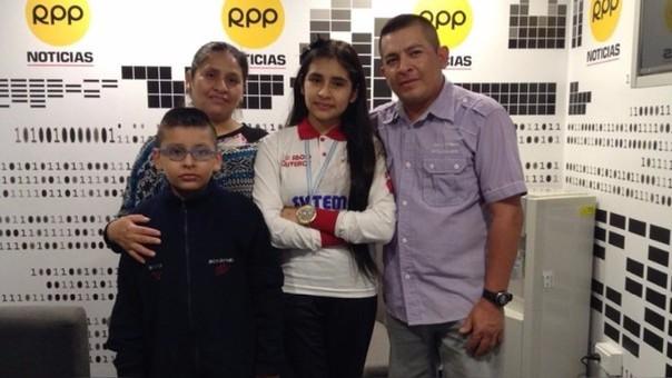Escolar peruana ganó medalla de oro en Olimpiada Mundial de ... 30009f49c190e
