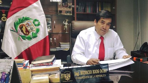 Benicio rios Ocsa