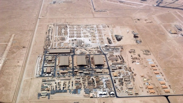 La base aérea de Al Udeid.
