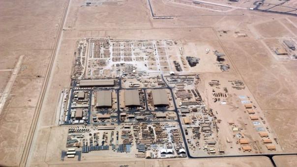 La base aérea de Al Udeid.