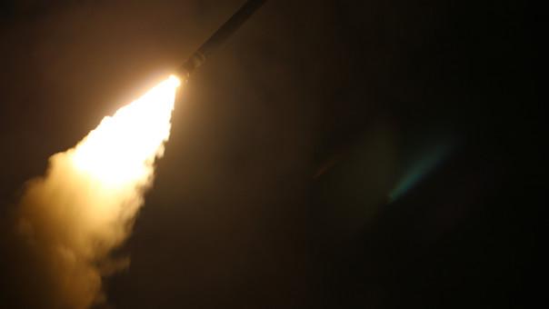 Ataque de EEUU y sus aliados a Siria.