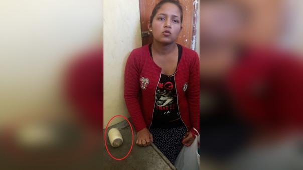 Mujer detenida con droga en el área de visitas del penal