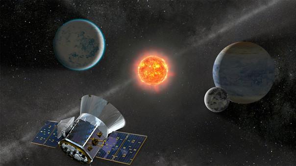 Se espera que el TESS revele unos 20,000 planetas más allá de nuestro sistema solar, conocidos como exoplanetas.