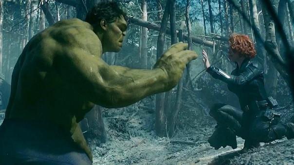 Black Widow y Hulk