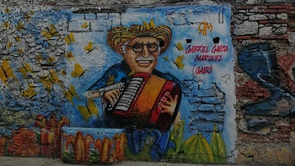 Gabo es un ícono de la cultura en Cartagena.