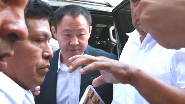 Kenji Fujimori declaró este lunes ante Fiscalía por presuntos aportes de Odebrecht a Keiko.