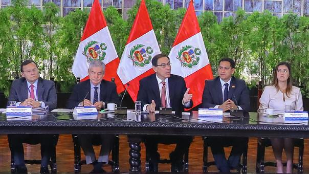 Gobierno aprueba paquete de proyectos para regiones por S/ 1,340 millones, informó el presidente Martín Vizcarra.