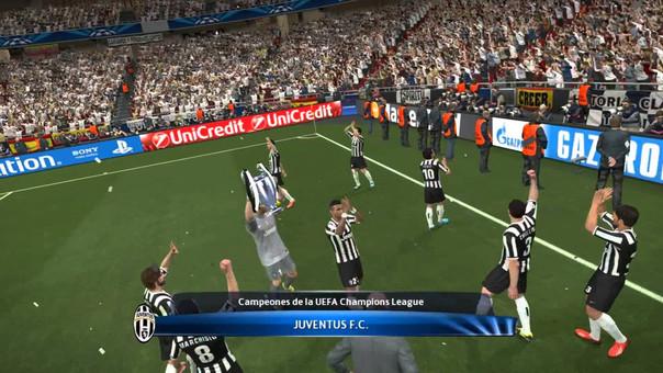 El videojuego de Konami tenía las licencias de la UEFA Champions League y la UEFA Europa League.