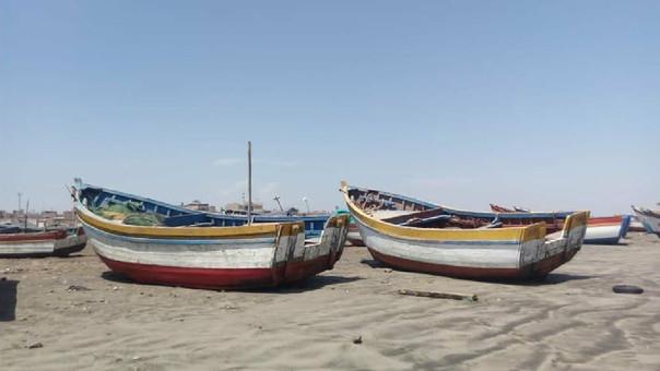 La mayoría de pescadores artesanales no pueden salir a pescar