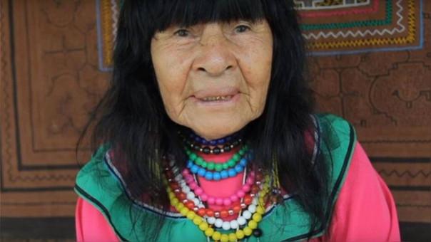 Olivia Arévalo era una conocida curandera en la comunidad Victoria, Gracia.