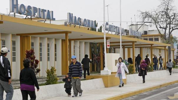 Un representante del Hospital Cayetano Heredia hizo sus descargos tras la denuncia de Erickson Quiroz Baquedano.