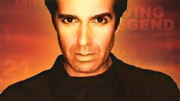 David Copperfield es uno de los ilusionistas más famosos a nivel mundial.