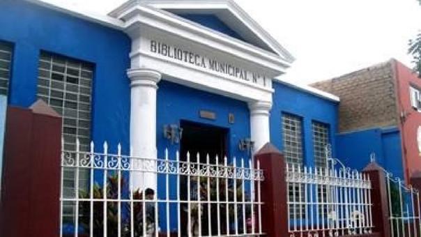 Biblioteca Municipal Trujillo