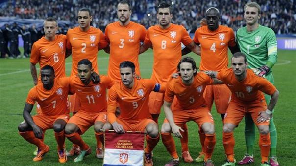 Wesley Sneijder es el jugador con más partidos en Holanda (133)