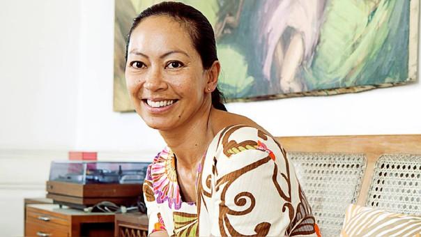 La diseñadora peruana Sumy Kujón presenta sus colecciones en el Perú Moda desde hace 14 años.