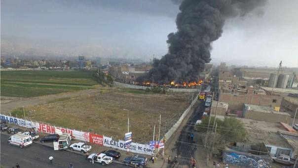 Incendio SMP