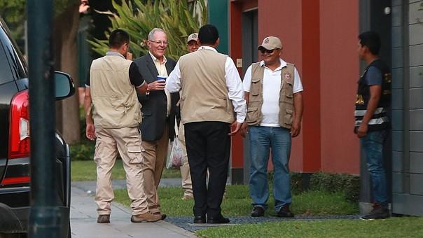 Hallan documentos sobre indulto a Fujimori en casa de PPK