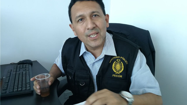 Fiscalía contra el Crimen Organizado de Trujillo, José Pagaza