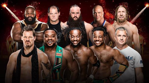 Royal Rumble de 50 hombres