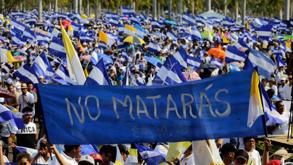 NICARAGUA-POLITICS-PROTEST-MASS