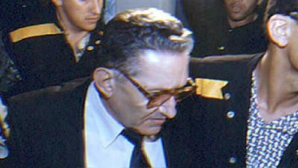 El exdictador boliviano Luis García Meza fue extraditado a su país en 1995.