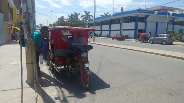 Mototaxis no podrán circular en la mayor parte del distrito de Chiclayo