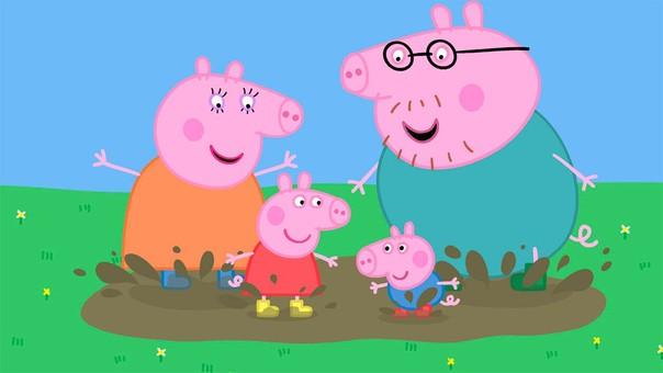 Peppa Pig se muestra en 180 territorios en todo el mundo.